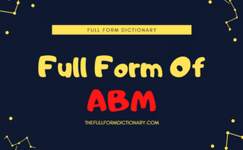 full form of abm