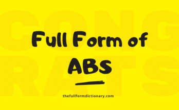full form of abs