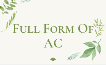 full form of ac