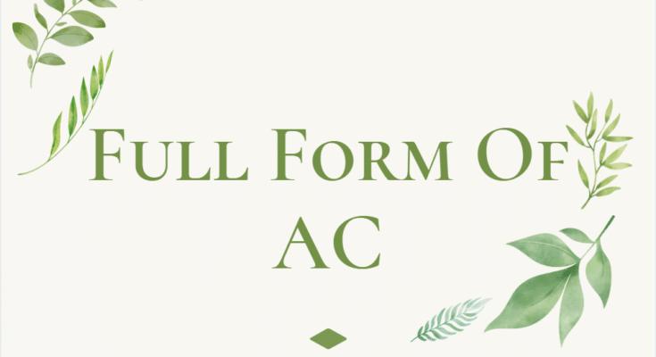 full form of ac