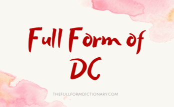 full form of dc
