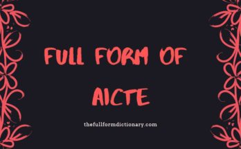 full fom of aicte