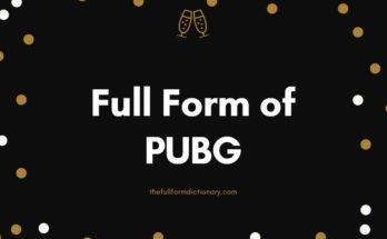 full form of pubg