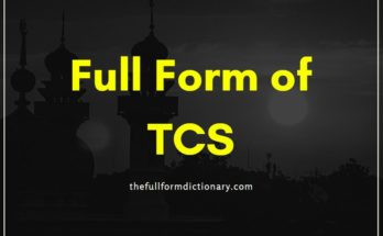 full form of tcs