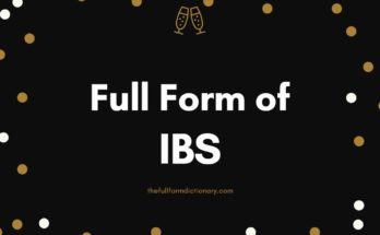 full form of IBS