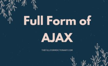 full form of ajax