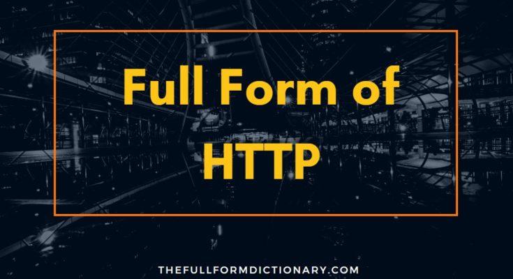 full form of http