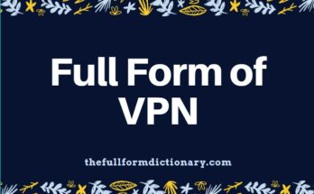 full form of vpn